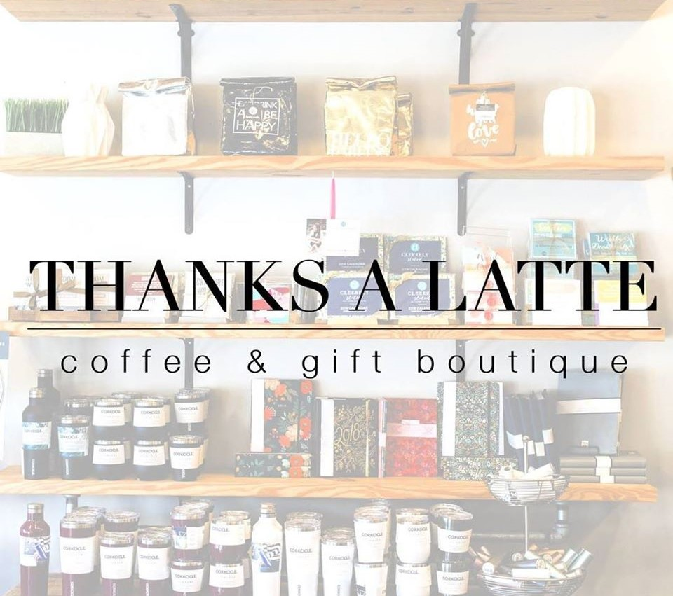 Thanks A Latte - Coffee & Gift Boutique Logo