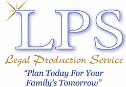 Legal Production Service Logo
