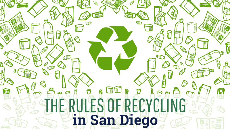The Rules of Recycling in San Diego