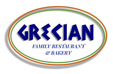 Grecian Family Restaurant and Bakery Logo