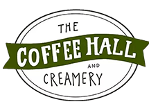 The Coffee Hall and Creamery Logo