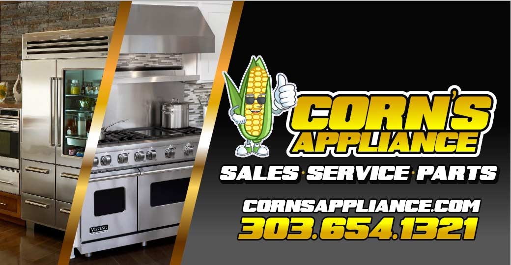 Corn's Appliance Logo