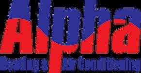 Alpha Heating & Air Conditioning Logo