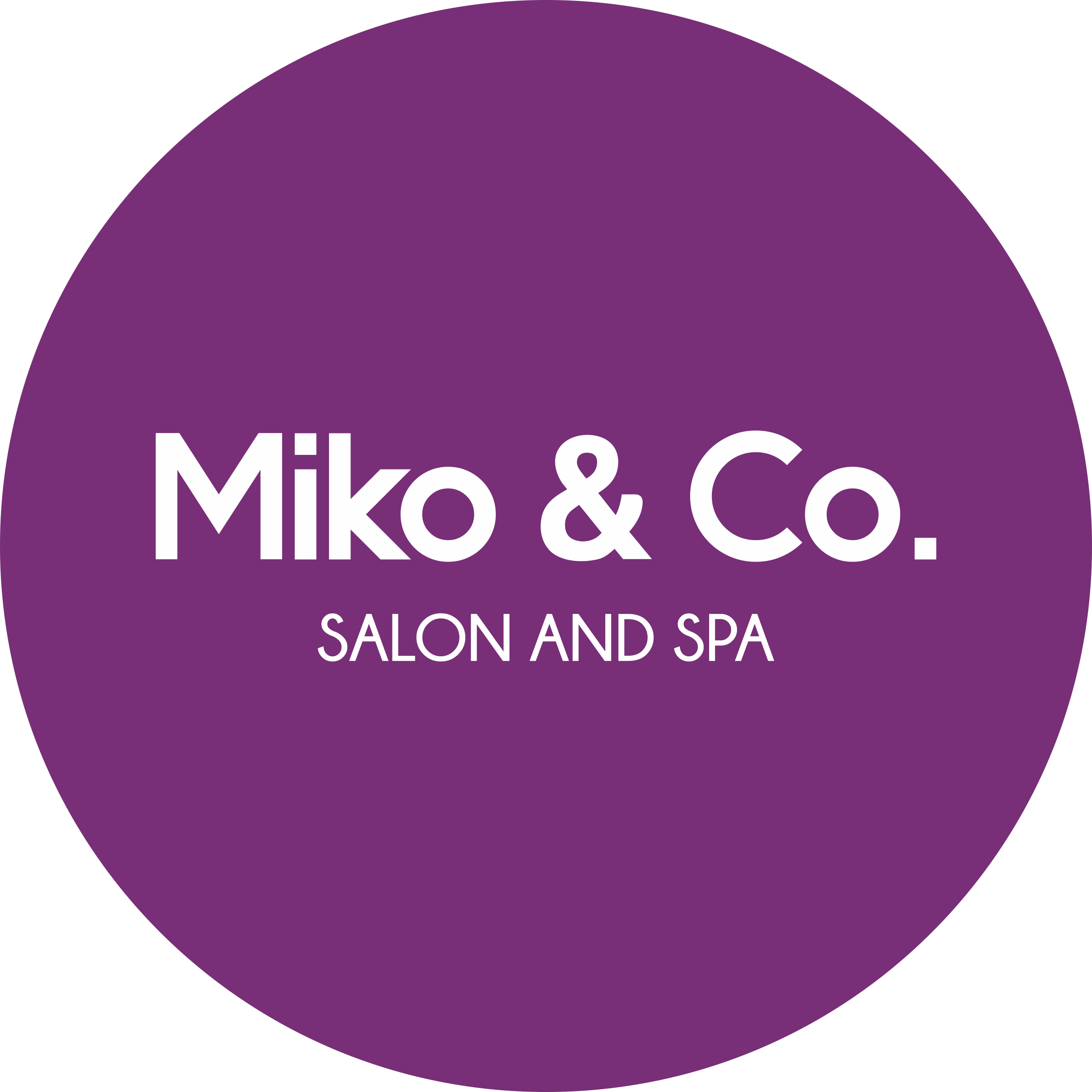 Miko & Co. Salon and Spa Logo