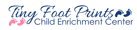 Tiny Foot Prints Child Enrichment Center Logo
