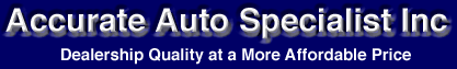 Accurate Auto Specialists Logo
