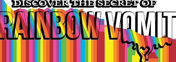 Rainbow Vomit Logo