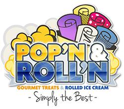 Pop'n & Roll'n Logo