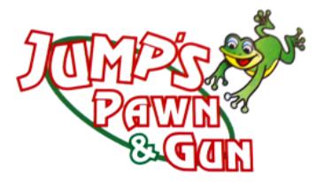 Jump's Pawn & Gun Logo