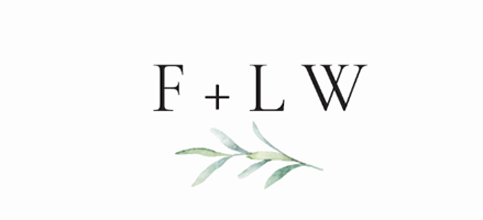 Flourish + Live Well Logo