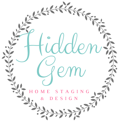 Hidden Gem Staging & Design Logo