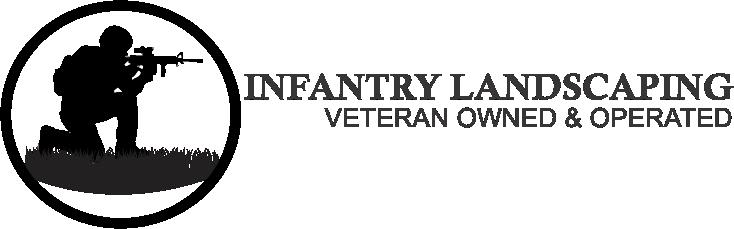 Infantry Landscaping Logo