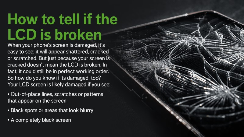 How to Tell if the LCD Screen is Broken
