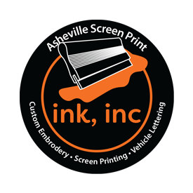 Ink, Inc. Screen Printing Logo