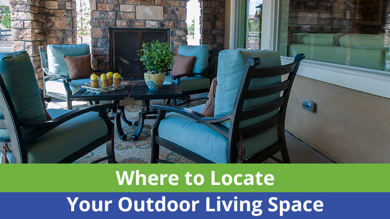 Anytime you are creating an outdoor living space, you want to ensure that there is enough lighting. You want to add things such as string lights, step lights or even floodlights.