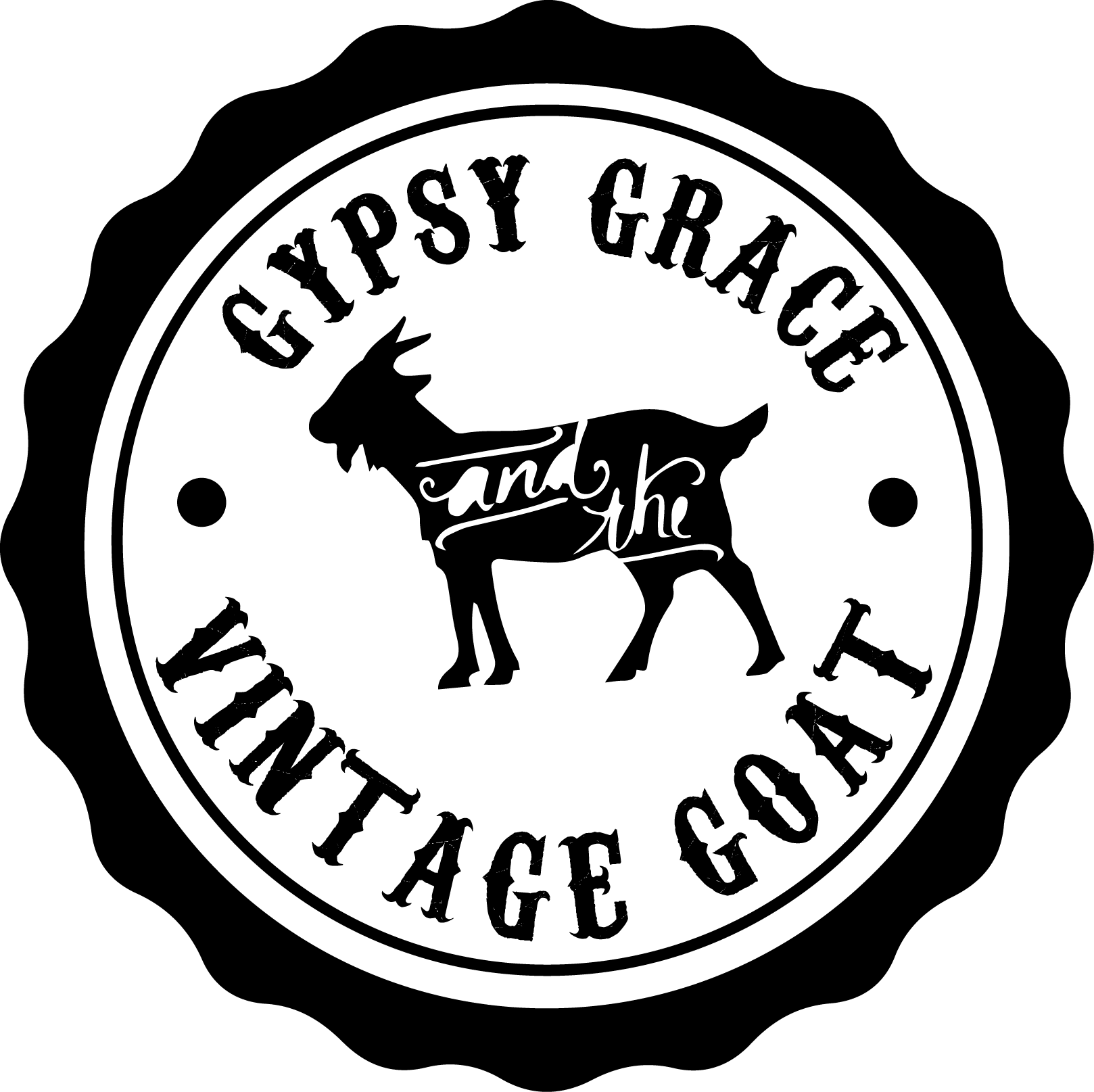 Gypsy Grace & The Vintage Goat Logo
