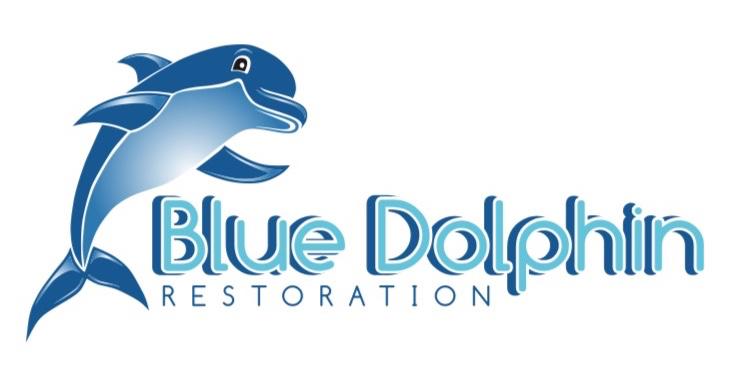 Blue Dolphin Restoration Logo
