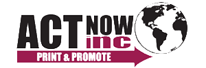 Act Now Print & Promote Logo