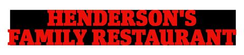 Henderson's Family Restaurant Logo