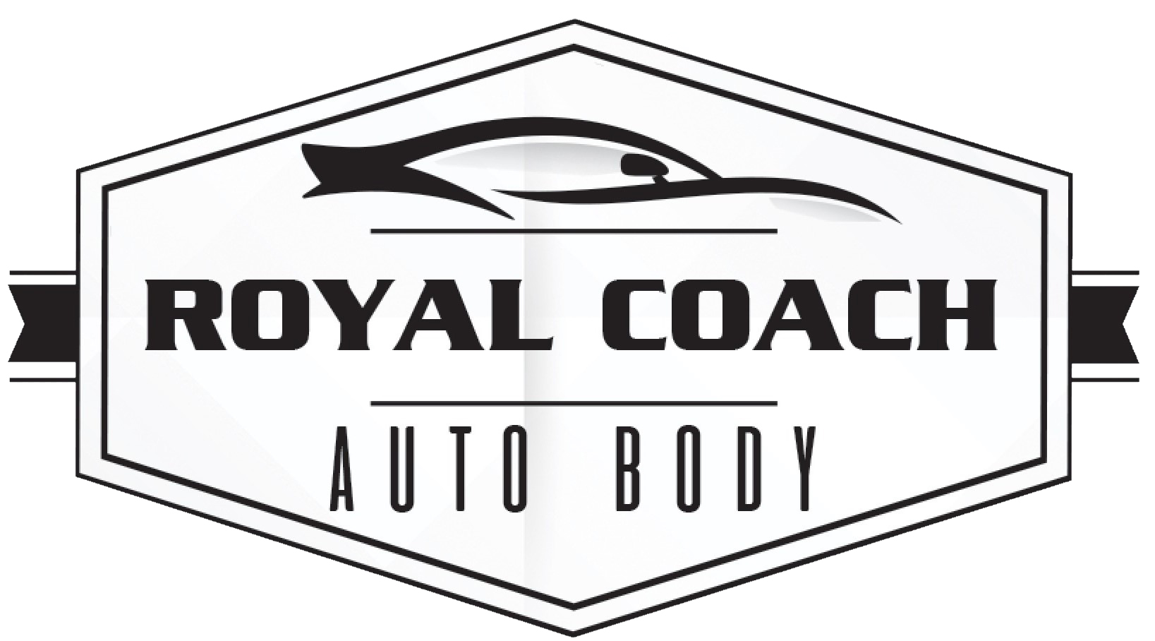 Royal Coach Auto Body Logo