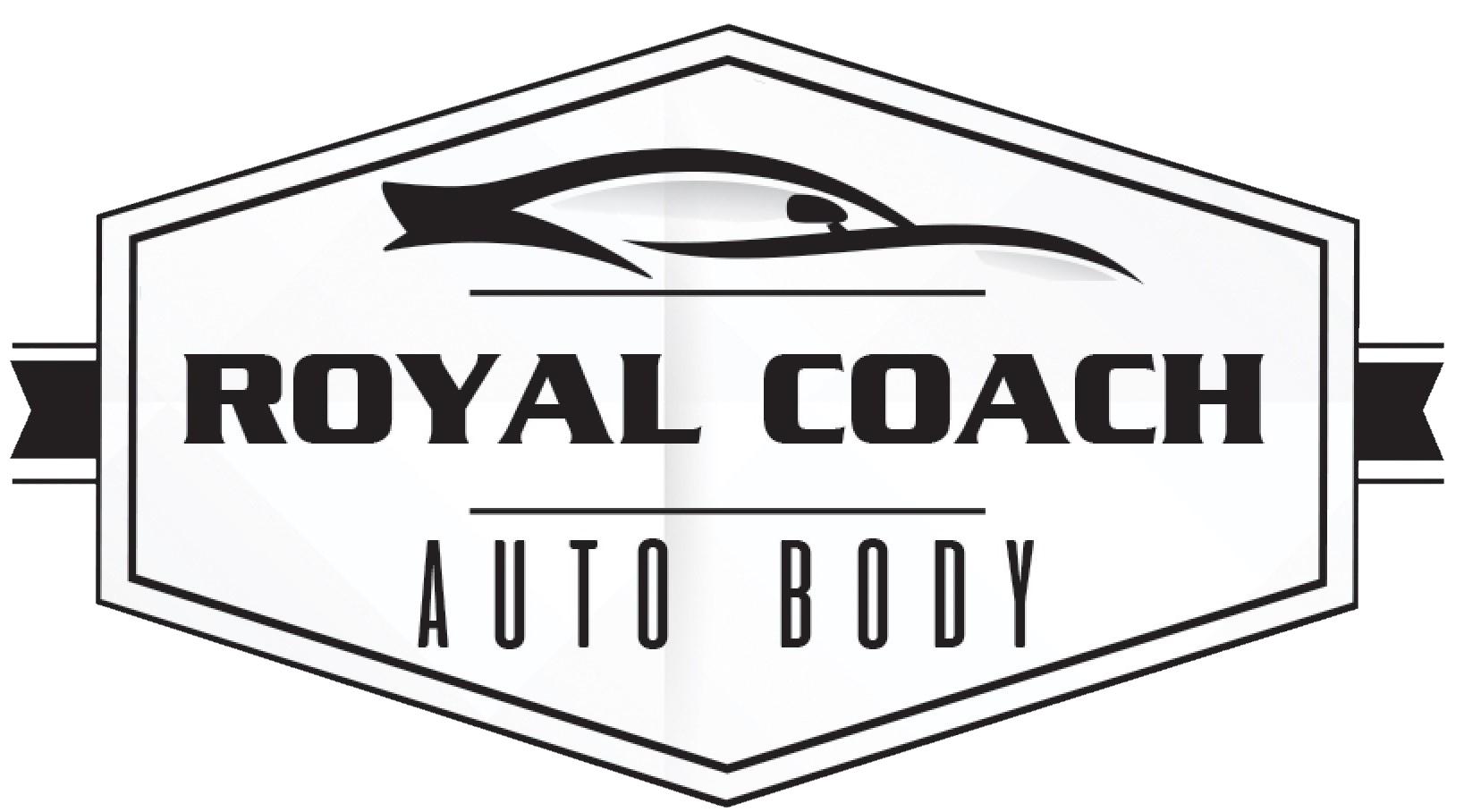Royal Coach Auto Body Logo