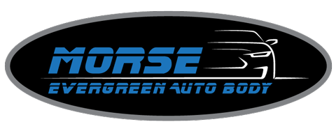 Morse Evergreen Auto Body Logo
