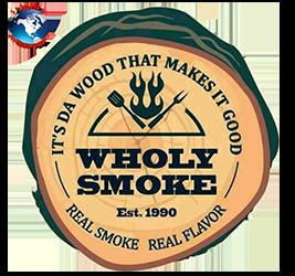 Wholy Smoke Family Restaurant Logo