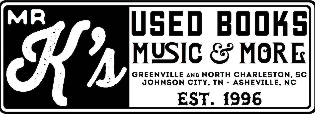 Mr K's Used Books, Music and More Logo