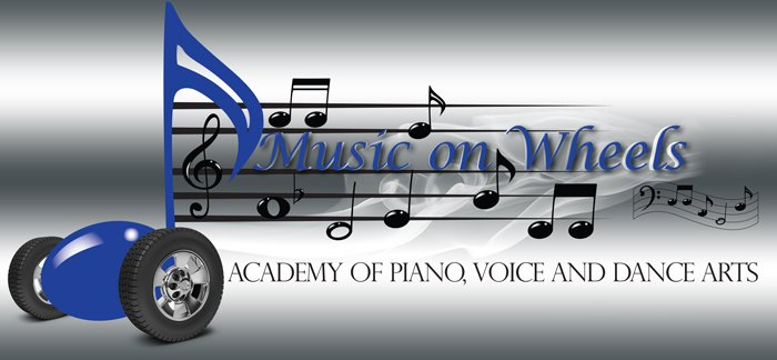 Music on Wheels Academy of Performing Arts Logo