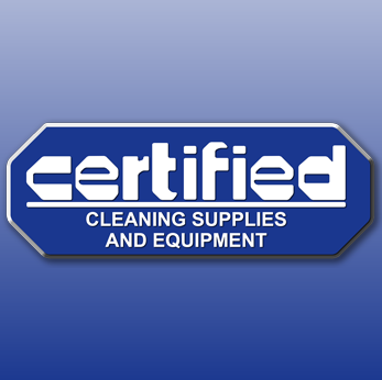 Certified Cleaning Supplies And Equipment Logo