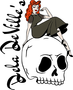 Dela DeVille's Vintage Logo