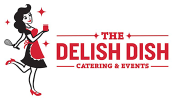 The Delish Dish Catering & Events Logo