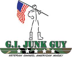 G.I. Junk Guy Logo