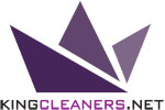 King Cleaners Blind & Drapery Services Logo