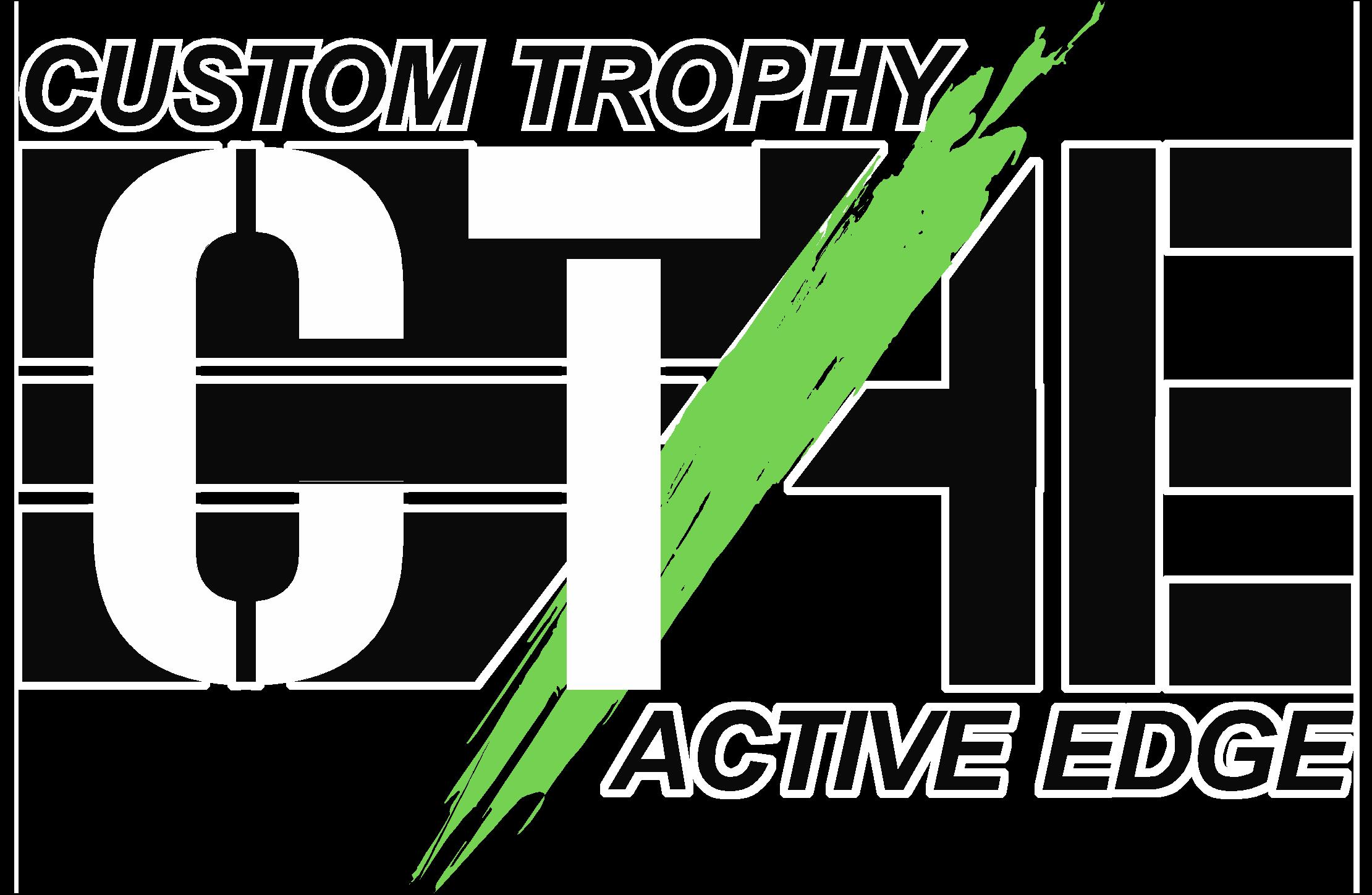 Custom Trophy / Active Edge Logo