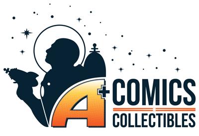 A+ Comics & Collectibles Logo