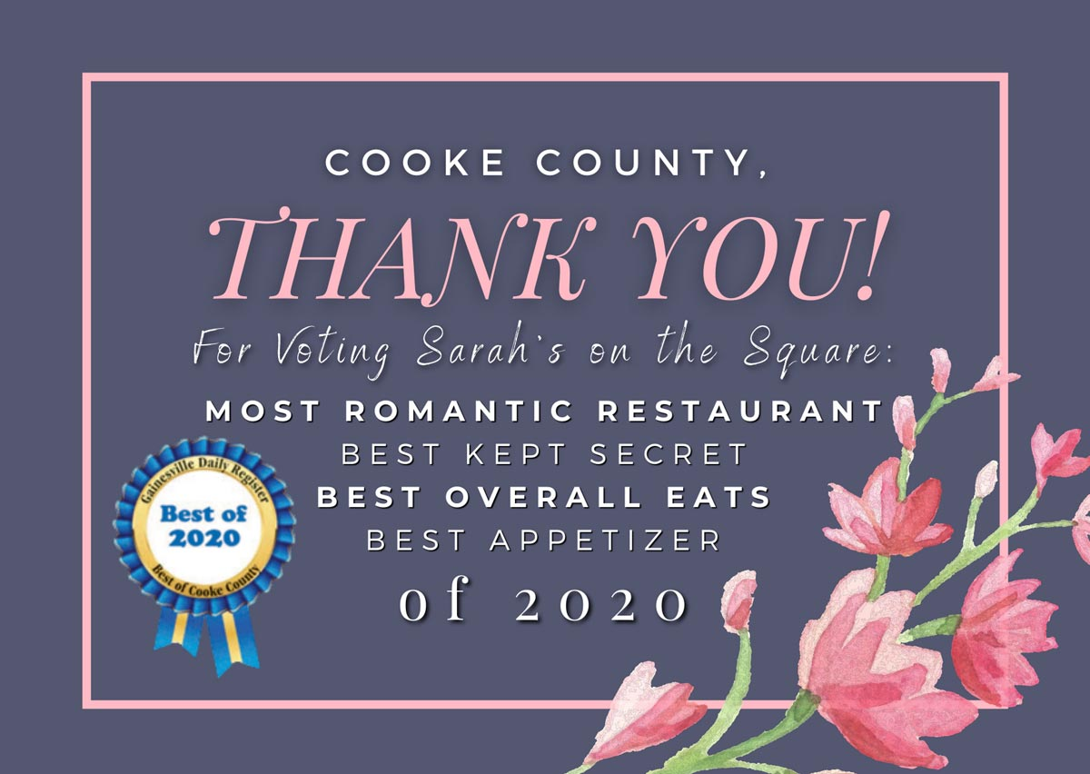 Thank You Cooke County!