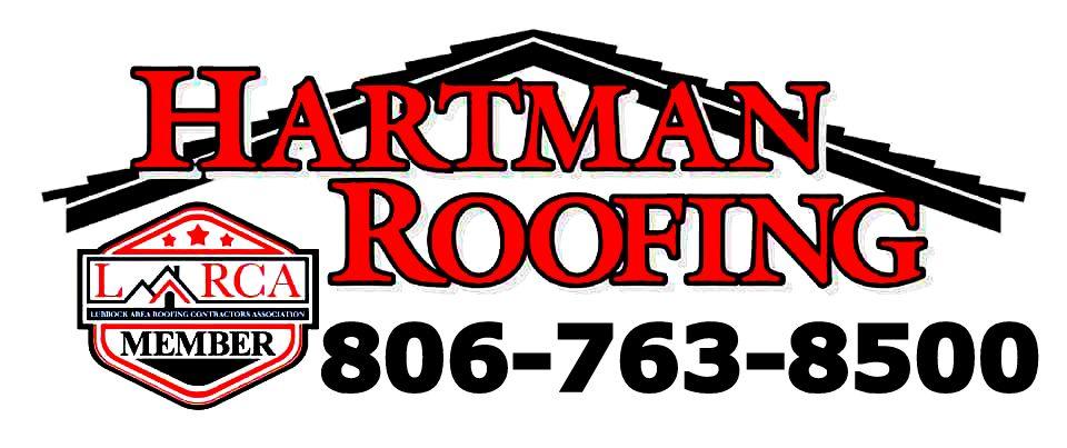 Hartman Roofing Lubbock Logo