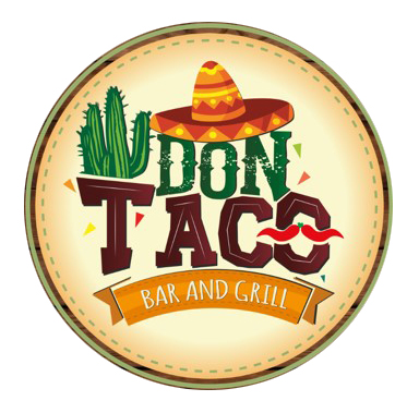 Don Taco Bar and Grill Logo