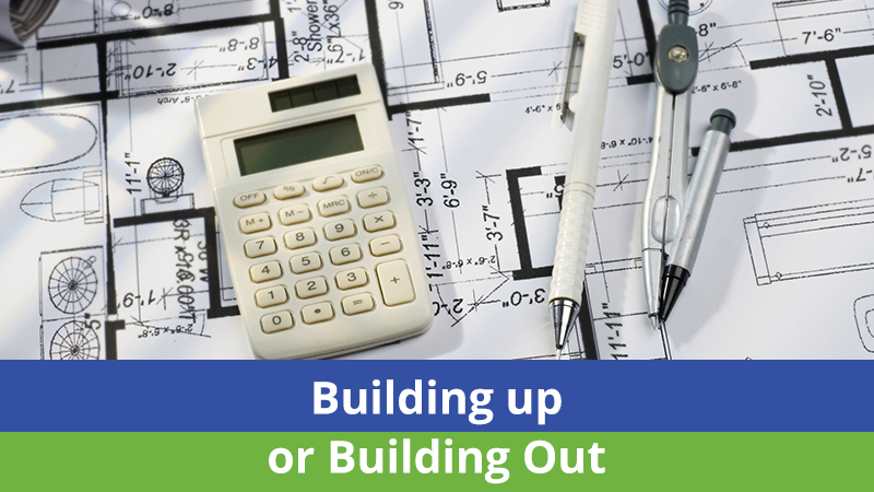 Building up or Building Out