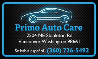 Primo Auto Care Logo