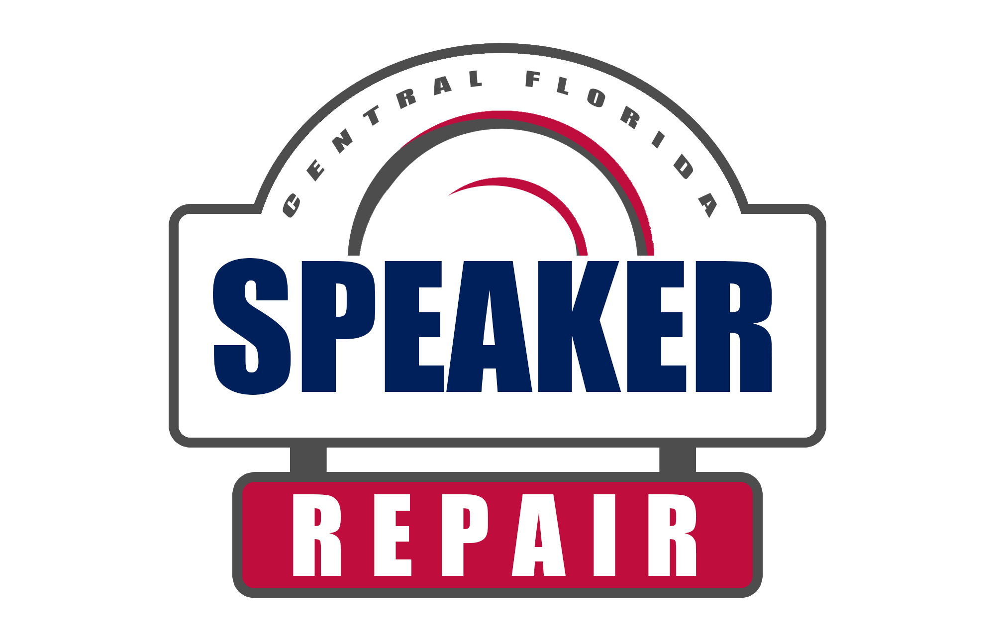 Central Florida Speaker Repair Logo