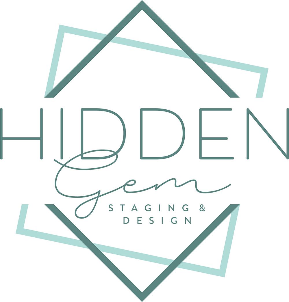 Hidden Gem Staging & Design Logo