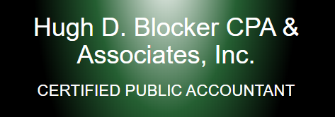 Hugh D Blocker Jr., CPA Logo