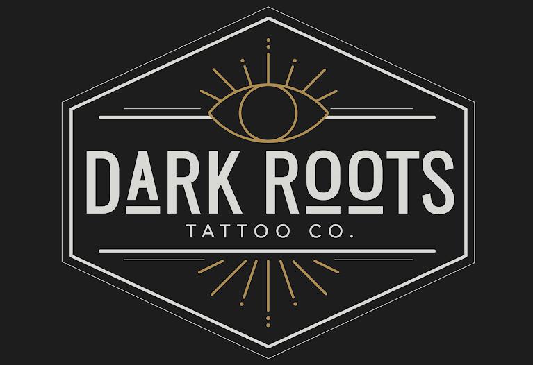 Dark Roots Tattoo Co. Logo