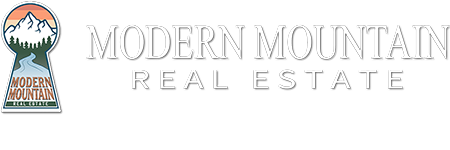 Modern Mountain Real Estate Logo
