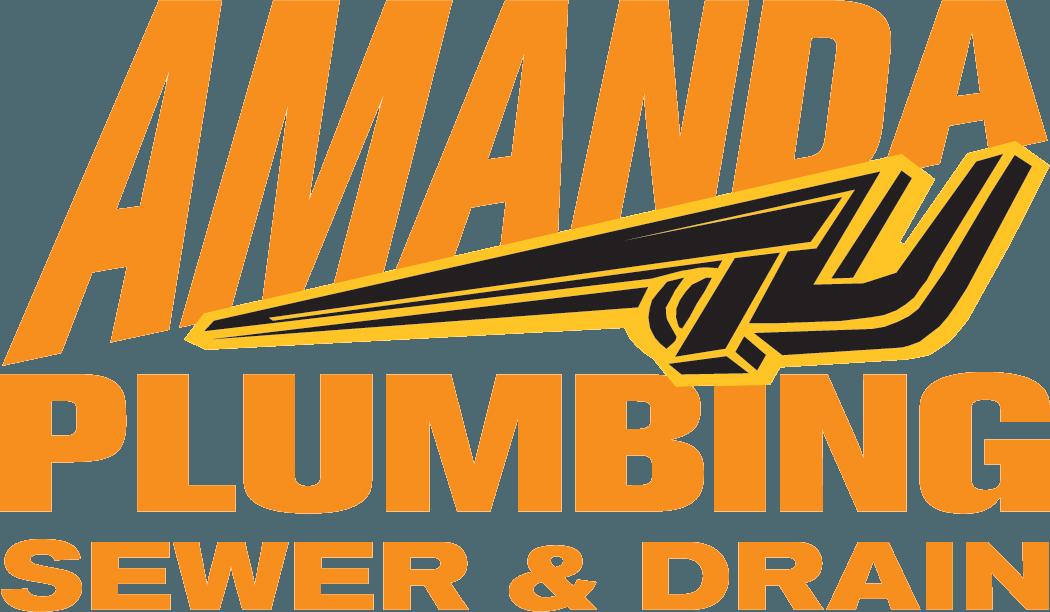 Amanda Plumbing Sewer & Drain Logo