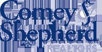 The Two Sues Team: Comey & Shepherd Realtors Logo