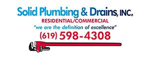 Solid Plumbing & Drains Logo