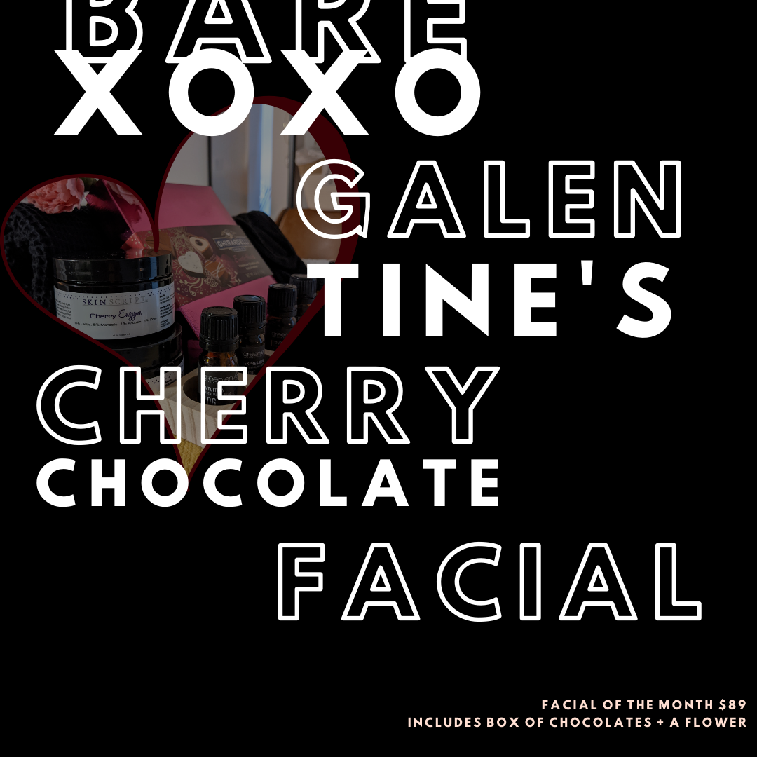Valentine's Offer Cherry Chocolate Facial